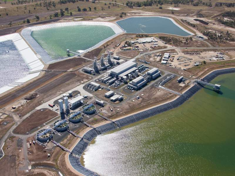 QGC Northern Water Treatment Plant