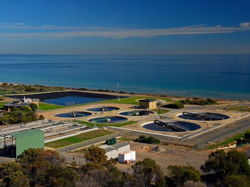 Chrisites Beach Waste Water Treatment Plant